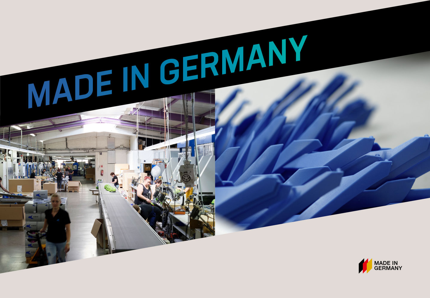 OUR DNA: MADE IN GERMANY