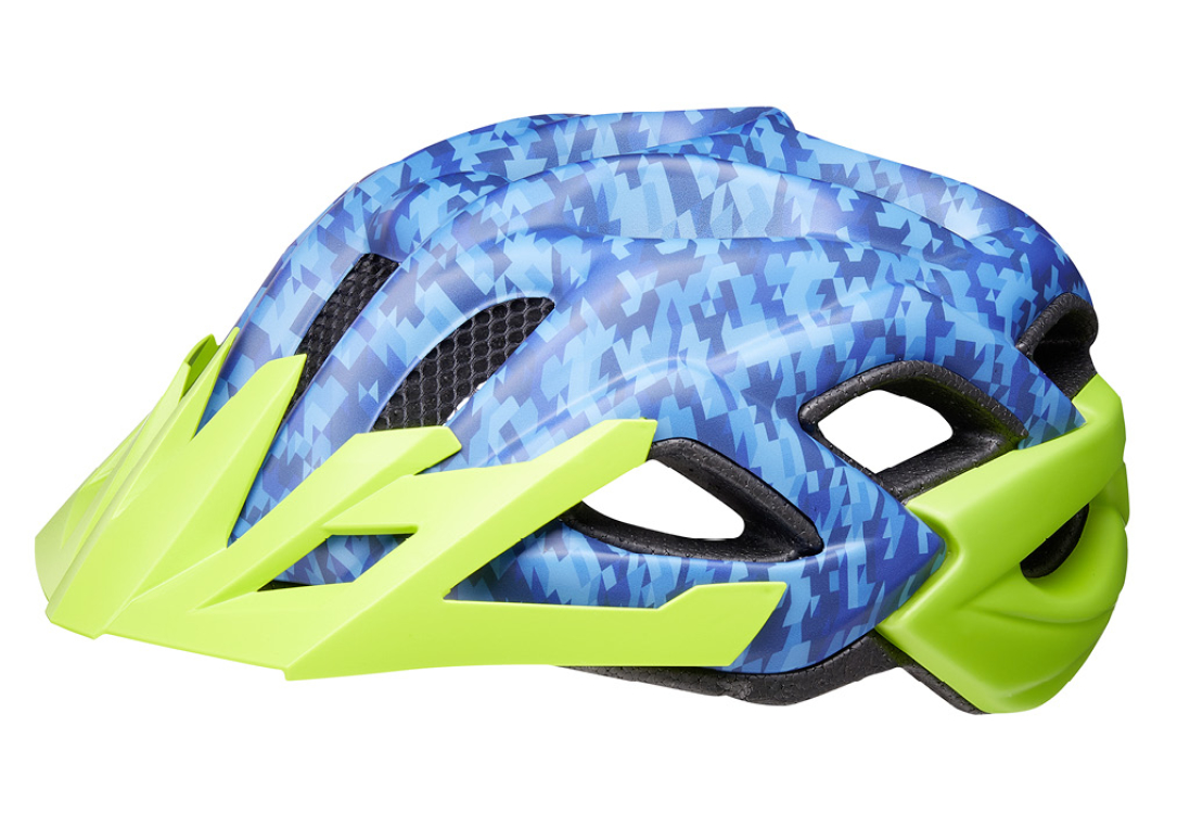 Status Jr. camouflage blue green