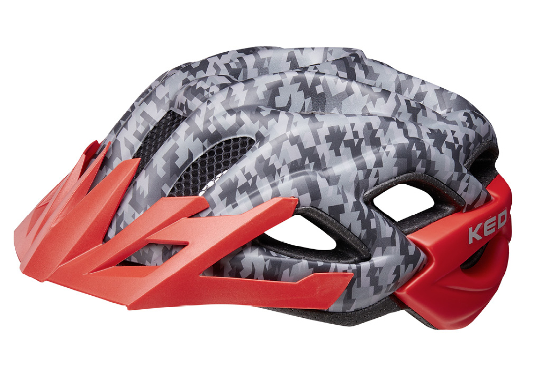 Status Jr. camouflage anthracite red